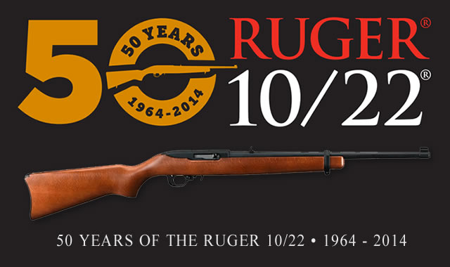 Ruger 10/22 Rifle 50th Anniversary