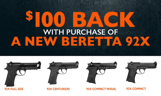 Cash Back with a New Beretta 92X