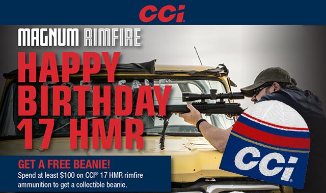 Rebate: Happy Birthday 17HMR