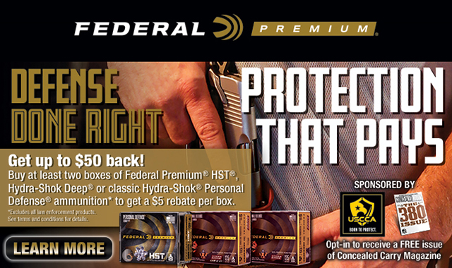 Rebate: Defense Done Right Protection that Pays