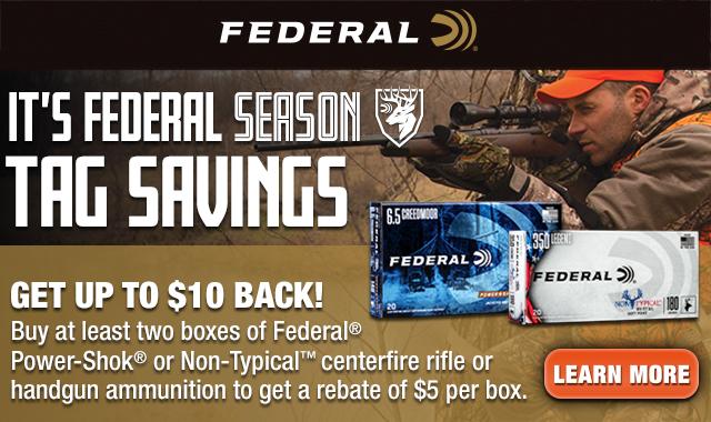 Rebate: Its Federal Season Tag Savings