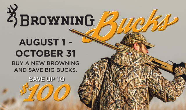 Rebate: Browning Bucks Rebate