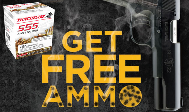 Get Free Ammo from Browning
