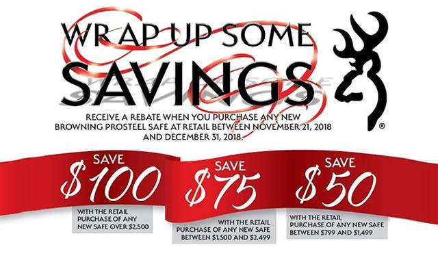 Rebate: Wrap up some Savings