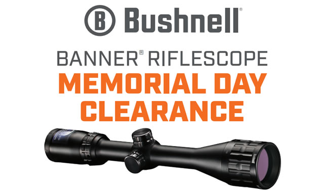 Banner Riflescope Memorial Day Clearance