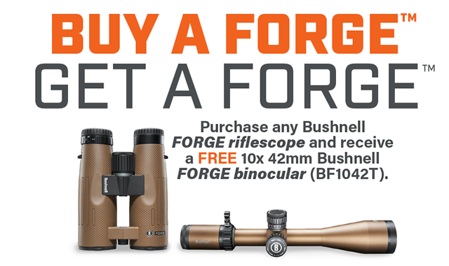 Rebate: Buy a Forge Get a Forge