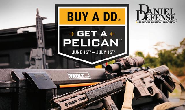Buy a DD get a Pelican