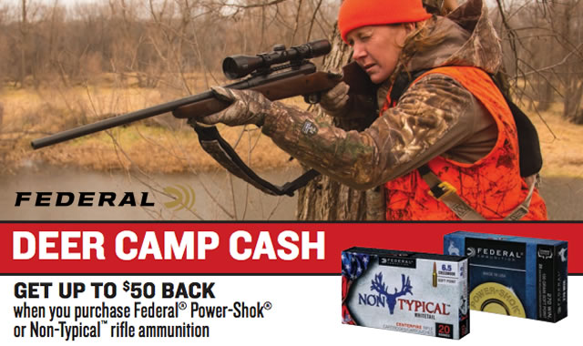 Rebate: Deer Camp Cash Rebate