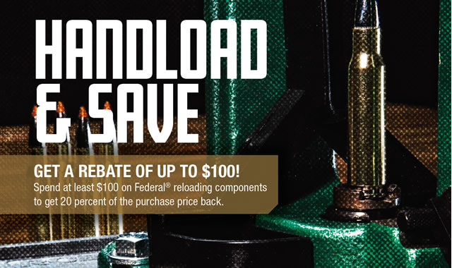 Rebate: Handload and Save