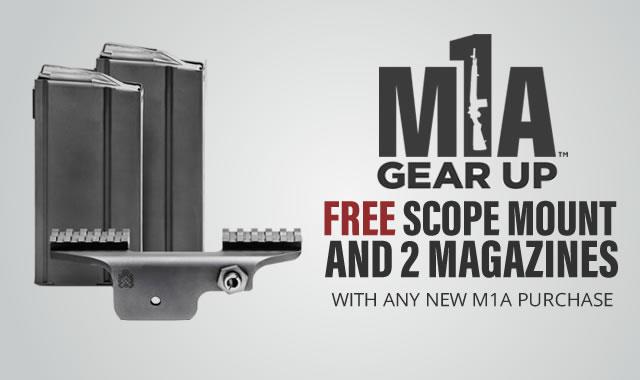 Rebate: M1A Gear Up