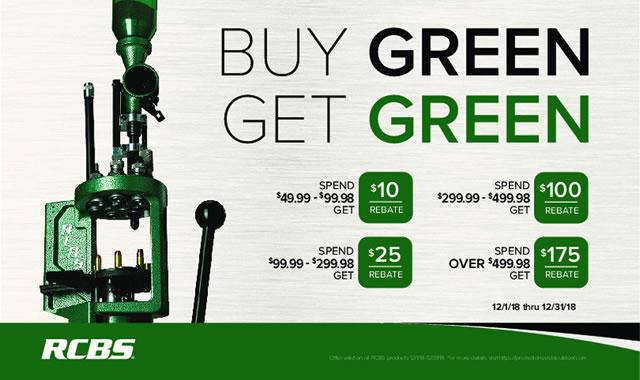 Rebate: Buy Green Get Green