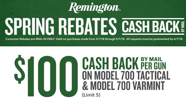 Rebate: Spring Rebates