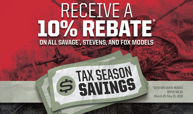 Tax Season Savings