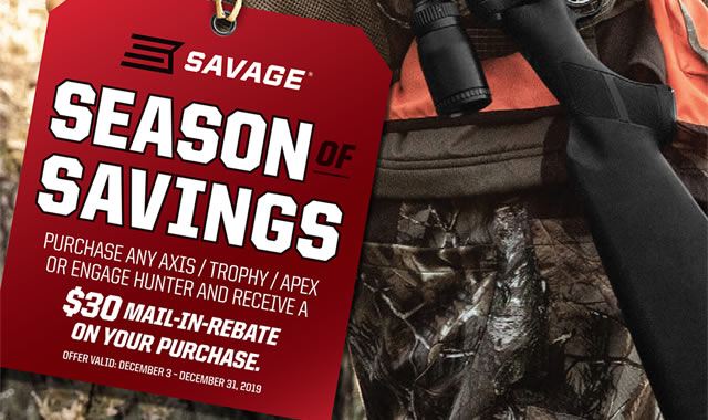 Rebate: Season of Savings