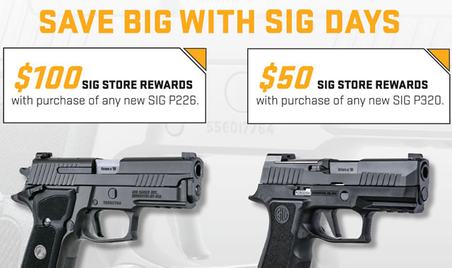 Save Big with Sig Days