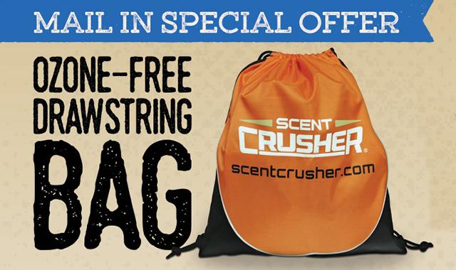 Rebate: Ozone Free Drawstring Bag