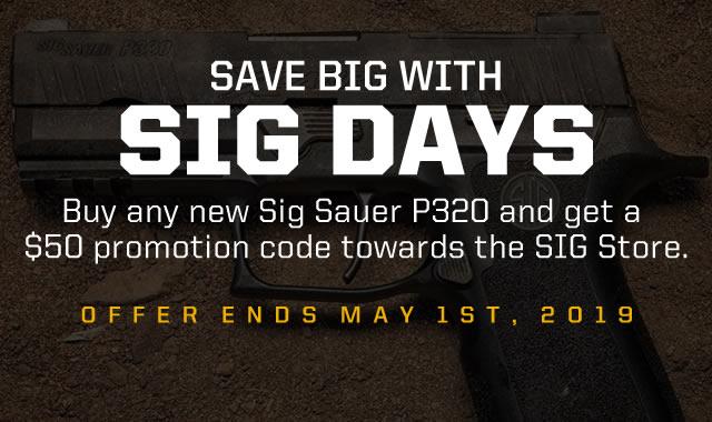 Save Big with Sig Days
