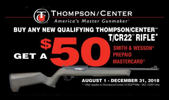 TCR 22 Rebate