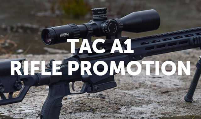 Rebate: Tac A1 Rifle Promotion