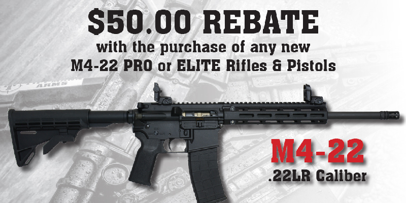 Rebate: M4 22 Rebate