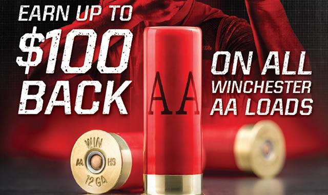 AA Shotgun Ammo Rebate