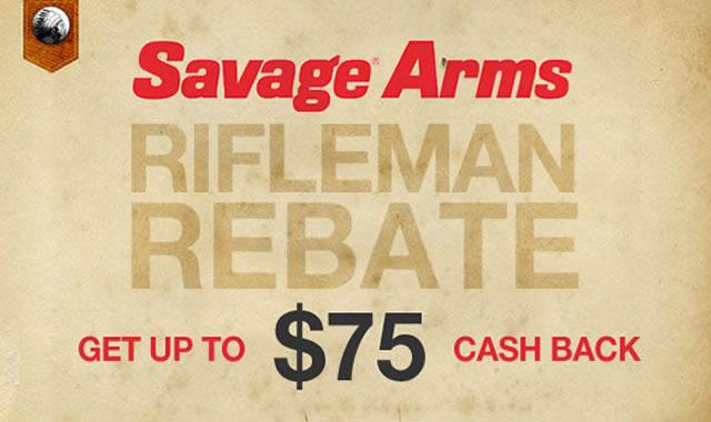Savage Arms Rifleman Rebate