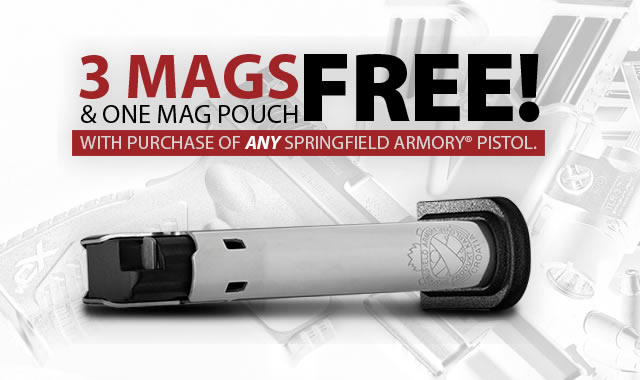 Springfield Armory Gear Up Promotion
