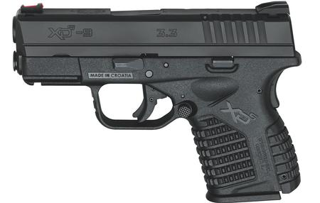 SPRINGFIELD XDS 3.3 9MM BLACK HOLIDAY PACKAGE