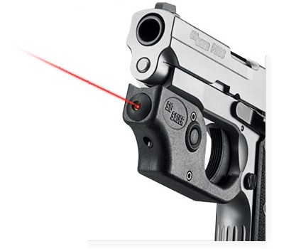 P938 Two-Tone 9mm Centerfire Pistol with Sig Laser
