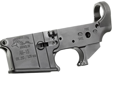 Top guns anderson manufacturing ar 15 a3 stripped lower 7075 t6 223 5