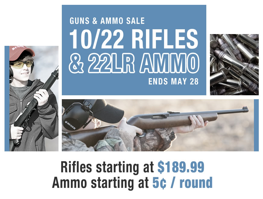10/22 Rifles and 22LR Ammo