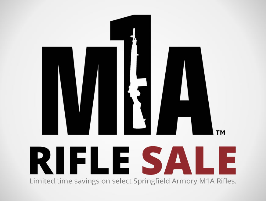 Springfield M1A Rifle Sale