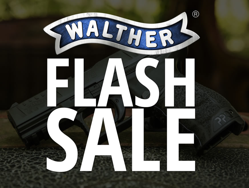 Walther Flash Sale