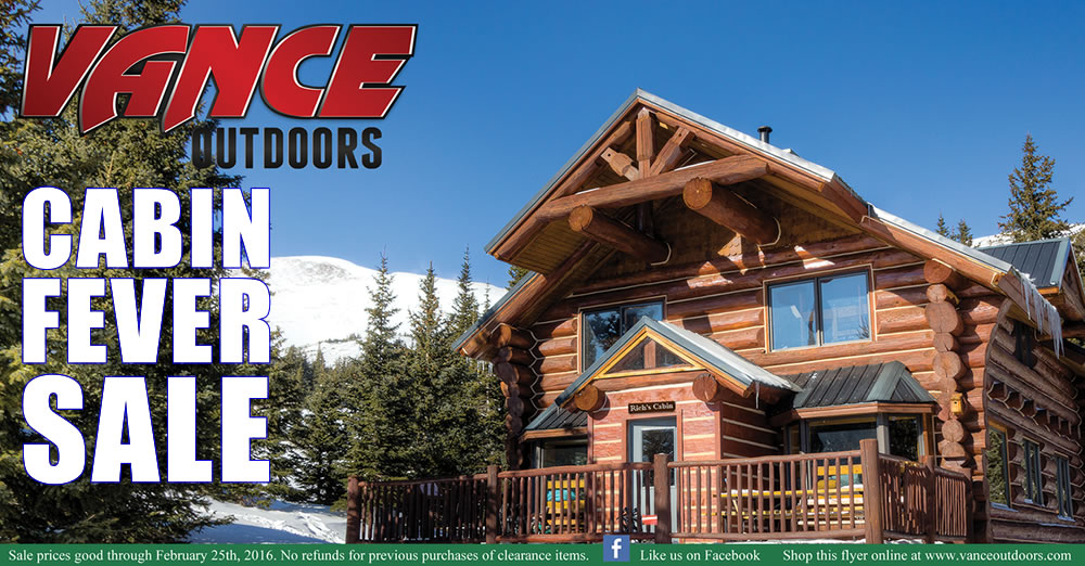 Vance Outdoors Monthly Flyer