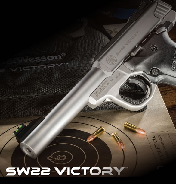 Smith and Wesson SW22 Victory Pistol in Stock