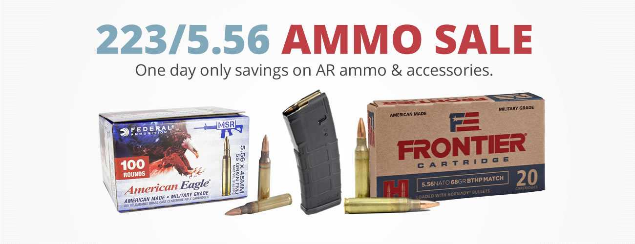 223 Ammo One Day Sale