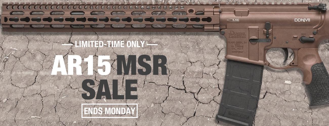 AR-15 and MSR Rifle Sale