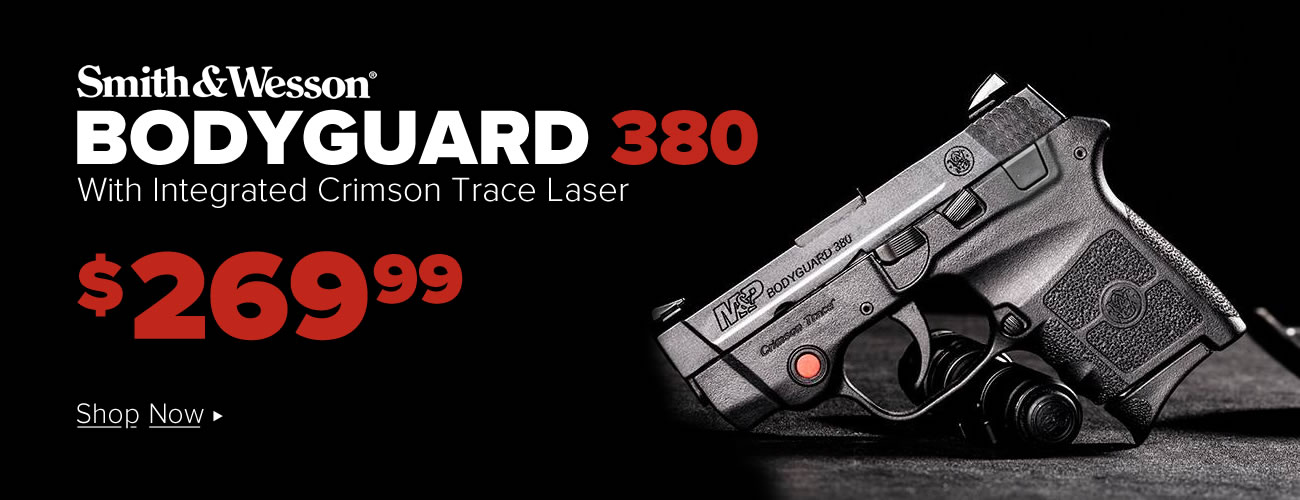 S&W Bodyguard 380 with Laser $269.99
