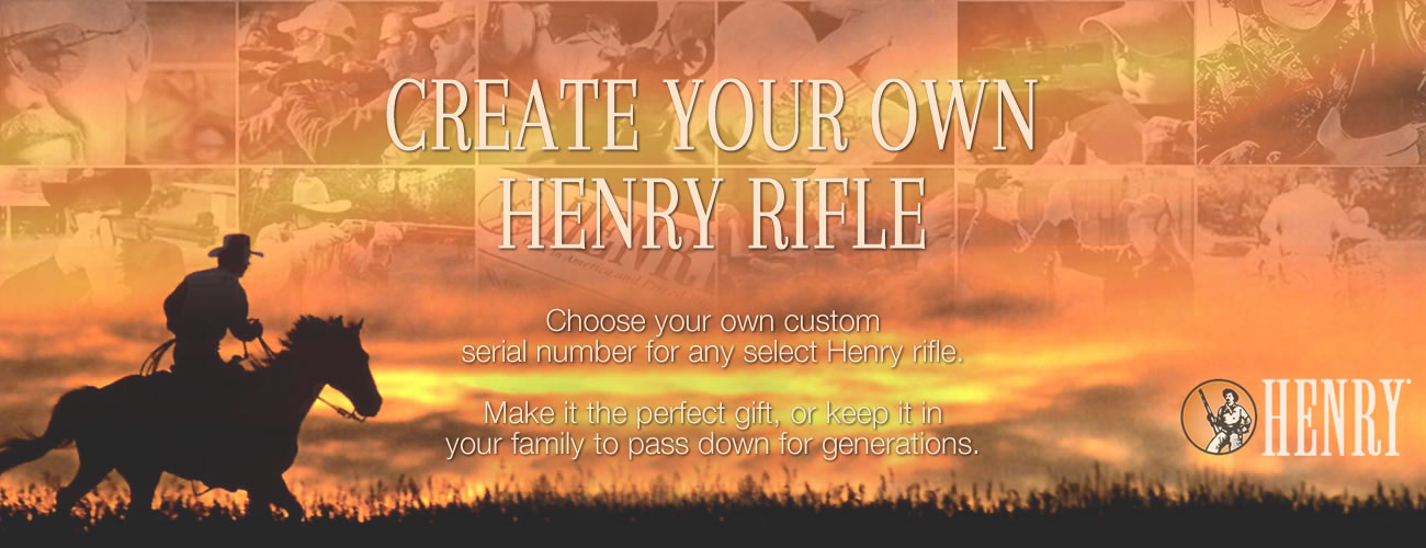 Create Your Own Henry Heirloom Rifle