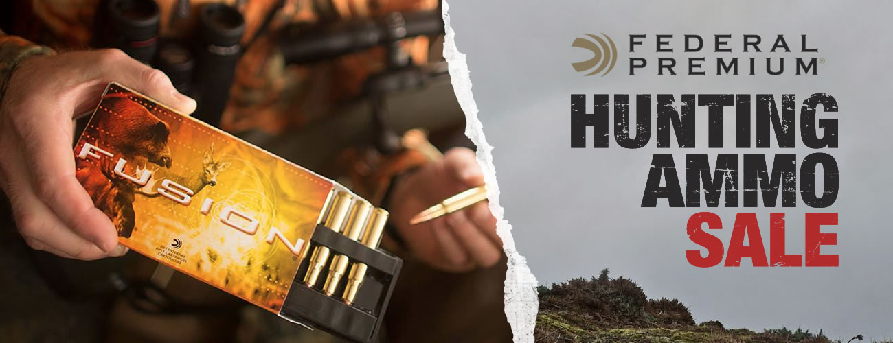 Federal Hunting Ammo Sale