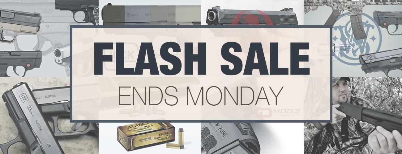 Flash Sale on Guns