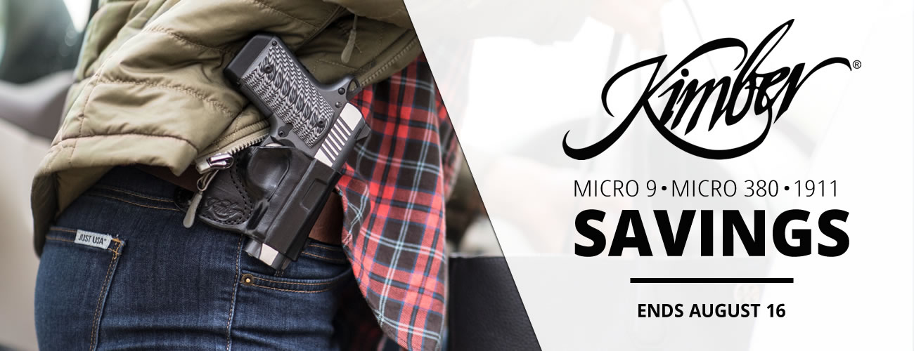 Kimber Firearm Savings