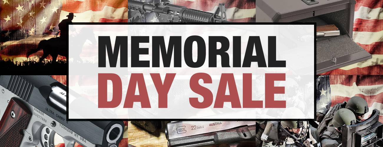 Memorial Day Sale on Guns