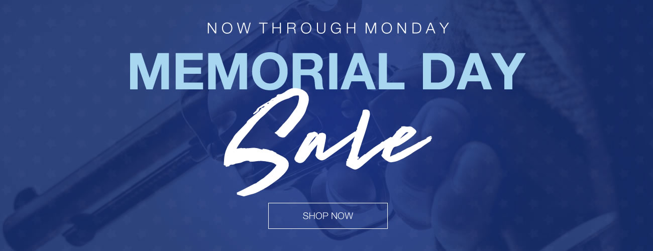 Memorial Day Sale - 3 Days Only