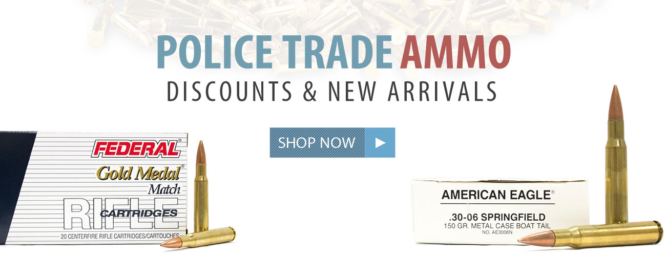 Police Trade-in Ammo for Sale