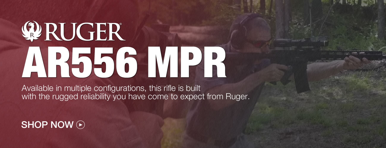 Ruger AR-556 MPR Rifles for Sale