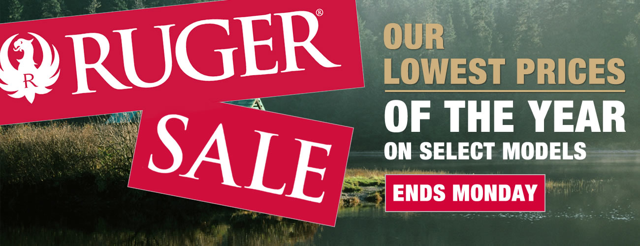 Ruger Sale: Our Lowest Prices of the Year