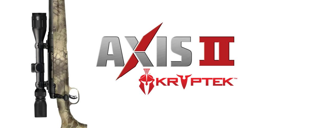 Axis II Kryptek Rifles for Sale