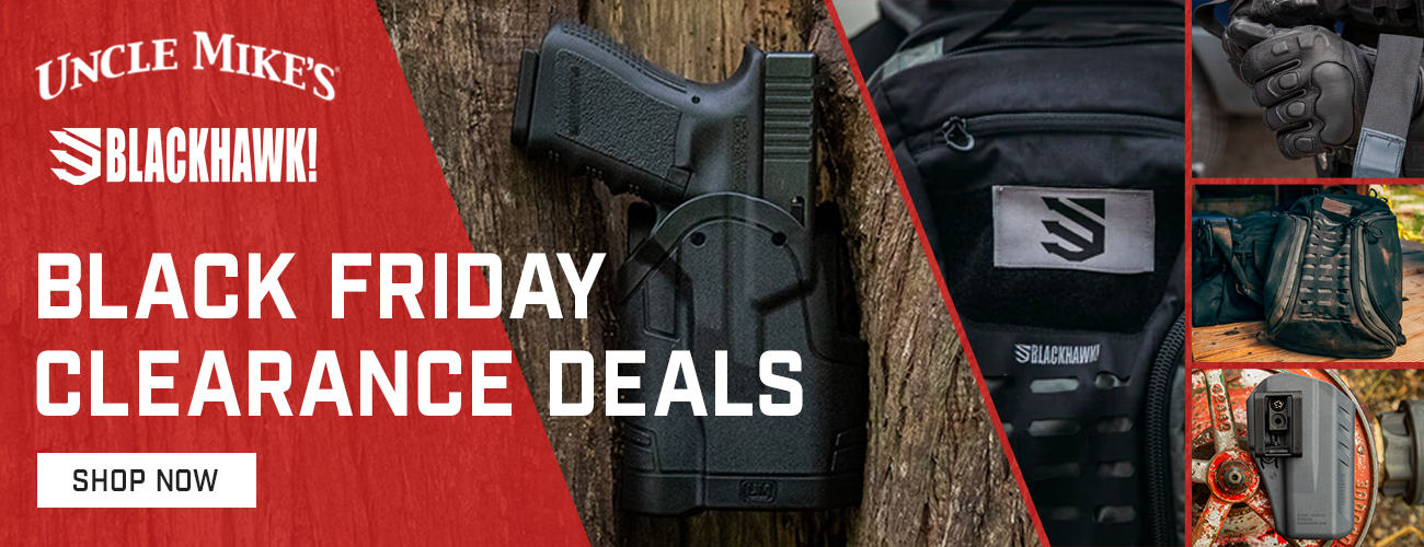 Black Friday Deals on Uncle Mikes and Blackhawk