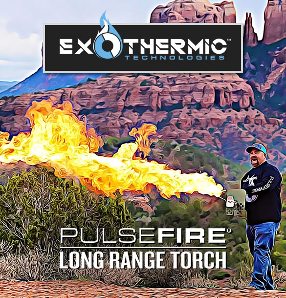 Exothermic Pulsefire Flamethrower for Sale